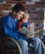 father-reading-book